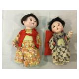 Asian Vintage Bisque dolls