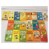 Charles M. Shultz Peanuts collection of books