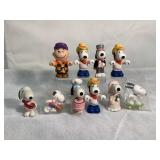 Peanuts Charie Brown & Snoopy figurines