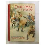 Christmas in dickens vintage book 1941
