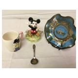Vintage Disney Mickey Music Box and more