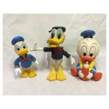 Donald Duck Vintage Plastic Figurines