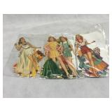 Celebrity Vintage Orginal Paper Dolls and more