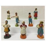 German antique composition figures,1920