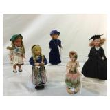 Composition vintage dolls & more