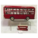 London Transport double decker bus & more
