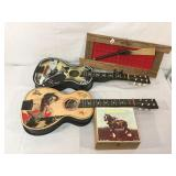Hop-a-long Cassidy & Gene Autry guitars &more