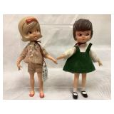 Hasbro vintage Dollyn Darling dolls, 1965