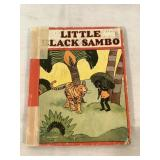 Little Black Sambo book, vintage 1927