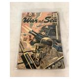 Comics Code vintage War At Sea comic book