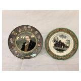 Staffordshire & Royal Dalton plates
