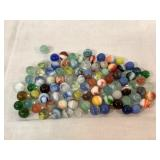 Collection of vintage marbles