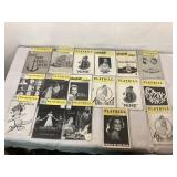 Playbill Vintage Magazines For Theatergoers