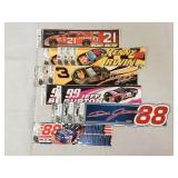 NASCAR Racing Bumper Stickers NOS