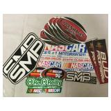 NASCAR Advertising Stickers & More