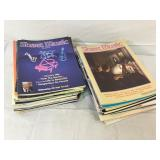 VIntage Sheet Music Magazine Large Lot