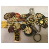 Las Vegas Leather Backed Key Chains and More