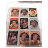 1959 topps baseball cards