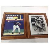 Andy Green & garry templeton autographed pictures
