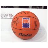 Phoenix suns autographed basketball