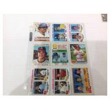 Mixed sports cards with stars