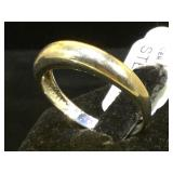 Sterling ring, size 10