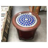 US State Quarter end table by Danbury Mint, (51