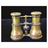 Vintage Lemaire fabt Paris  brass binoculars