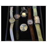 Assortment of quartz watches,(running), Fossil,
