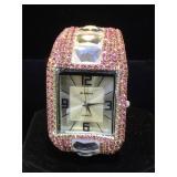 Be Dazzeled  quartz watch w/ crystals ,by