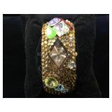 Be Dazzled quartz watch ,w/ Swarovski elements,