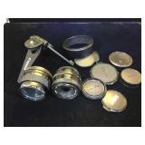 Canon Yashica  camera lenses & accessories,w/