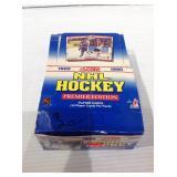 1990 score sealed hockey packs