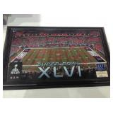 The highland Mint ny giants super bowl picture