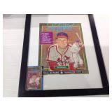 1986 framed Stan Musial puzzle