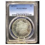 1979-S. PCGS MS64 Morgan Silver Dollar