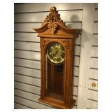 Mechanical chiming wall clock, missing key &