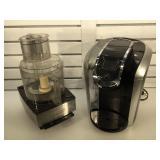 Cuisinart food processor & Keurig coffee maker