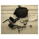 JVC Everio HD digital camcorder w/ all cords &