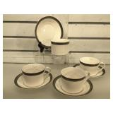 Spode bone china teacup & saucer sets