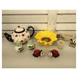 Longaberger, Noho studios, Figi & more, teapot,