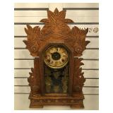 Antique Gilbert Collectable mantle clock w/ key