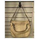 Coach pebble leather handbag