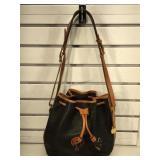 Vintage Dooney & Bourke pebble leather handbag