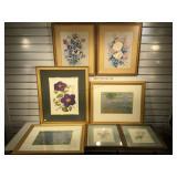 2 framed & matted Monet prints 22 1/2 x 18 1/2