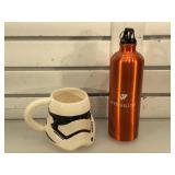 Star Wars mug & metal drink thermos