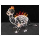Swarovski crystal dinosaur, over 2 1/2 inches
