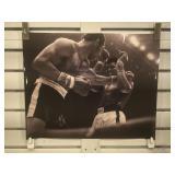 Muhammad Ali & Ken Norton  picture print, signed