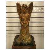 Signed, numbered & dated Matricia brass angel
