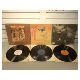 Lot of LPs - Heart, Aerosmith, Jimi Hendrix -